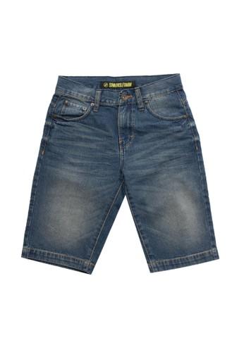 SHARKS blue Casual Short Jeans 16C6BKA75BDF93GS_1