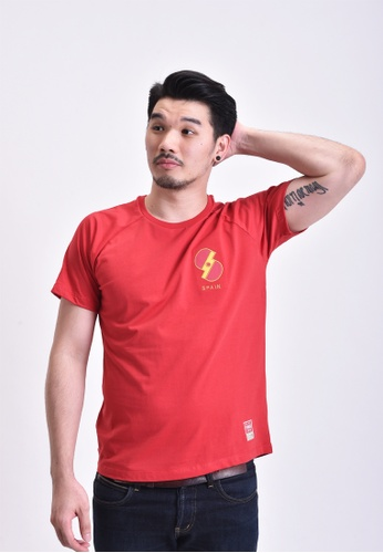 Skelly red Skelly Spain E16 Red Tees SK616AA91EZKMY_1