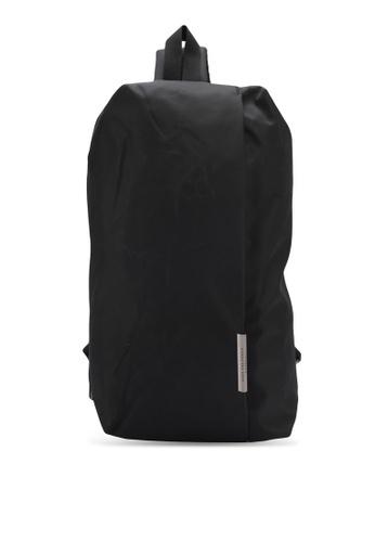 High Cultured black Nylon Chest Bag HI002AC0SPDAMY_1