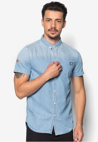 London 點點esprit香港分店短袖襯衫, 服飾, 襯衫