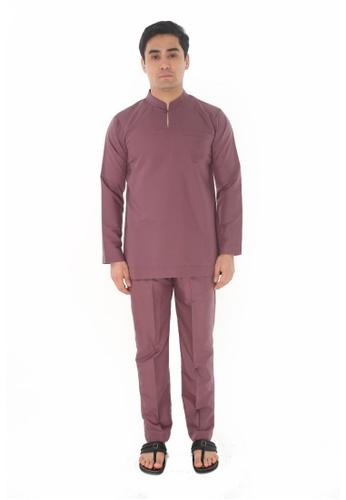 Amar Amran purple Baju Melayu Gumbae 24FC4AACEEDFF5GS_1