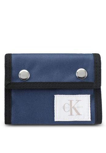 Calvin Klein blue Nylon Billfold Wallet - Calvin Klein Accessories 3C69EACE9EF5E3GS_1