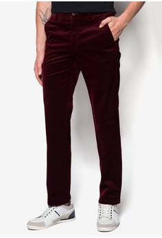 Flat Front Infinite Cotton Pants