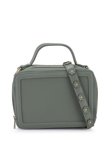 Milliot & Co. green Aya Sling Bag 56323AC12DBD7EGS_1