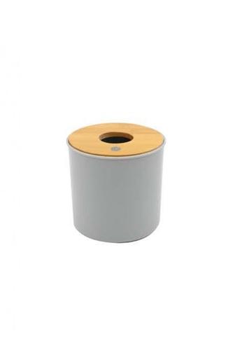 Primeo grey Premium Bamboo Gray Toilet Roll Holder B900EHLC4BBC3FGS_1
