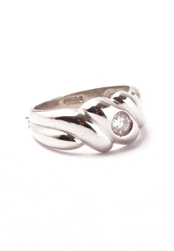 CEBUANA LHUILLIER JEWELRY silver Pt Pt Lady Ring With Diamond D0B67ACF1B34F2GS_1