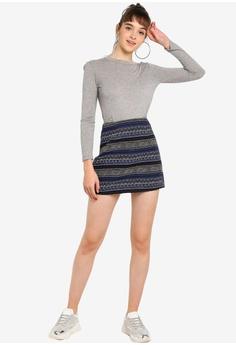 95e6151adb1ea8 38% OFF Something Borrowed Jacquard A-Line Skirt S$ 39.90 NOW S$ 24.90 Sizes  XS S M L XL