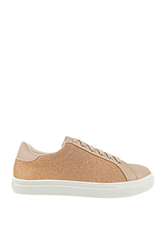 CO BLANC pink CO BLANC - Lace Up Stardust Sneakers 2C910SH06244F2GS_1