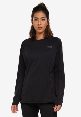 The North Face black TNF W WARM L/S CREW NECK TNF BLACK/TNF BLACK 753C1AAC53BFDDGS_1