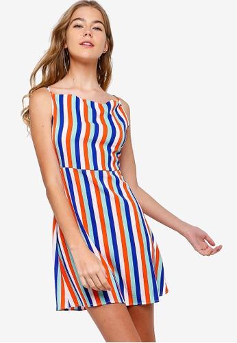 Something Borrowed multi Cross Back Mini Dress 16622AA6186529GS_1