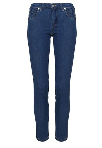 POPLOOK blue Catalina Skinny Jeans 11777AA34C714BGS_1