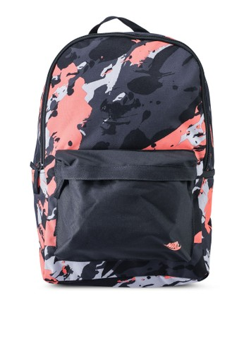 Nike black and grey Heritage Backpack CB314ACDF0D218GS_1