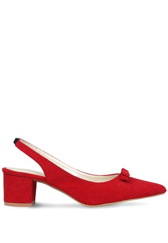 CLAYMORE red Claymore Mid Low Heels  MZ - 1729 - Red CL635SH0UPB8ID_1