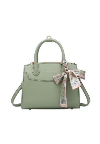 PLAYBOY BUNNY green Ladies Top Handle Sling Bag 2CEB3AC27FD4B7GS_1