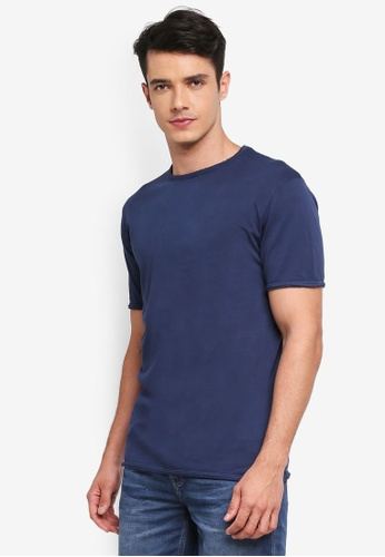 Only & Sons blue Albert Washed Tee 1316FAA5ECA544GS_1