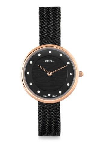 ZECA black Zeca Ladies Watches - 1001LP(2).M.P2.RG4 C6285AC1A5859AGS_1