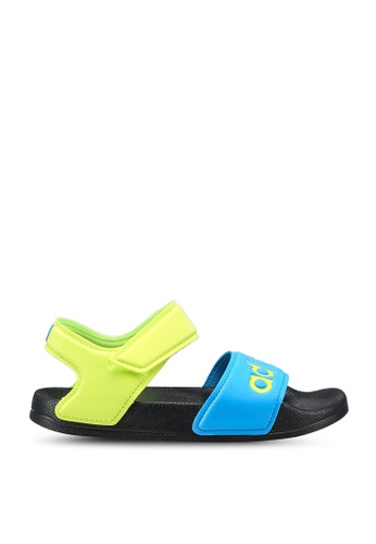 ADIDAS black adilette sandal k 06D3CKS07E2A78GS_1