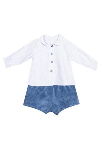 RAISING LITTLE grey Starla Outfit Set 50D4BKAE91D63AGS_1