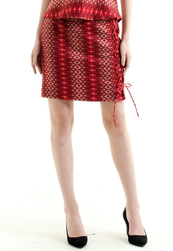 Bateeq Regular Cotton Print Skirt