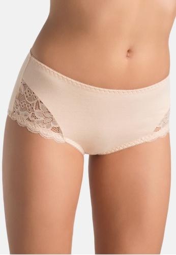 Teyli beige Women's Panties Jessi White D753FUS6FC962CGS_1