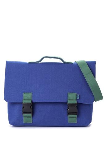 M.R.K.T. blue Kel Briefcase 90F5BACD683672GS_1