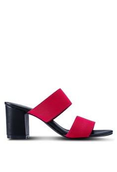 fc729286a2a Spiffy pink Open Toe Heels 099EFSHA313575GS 1