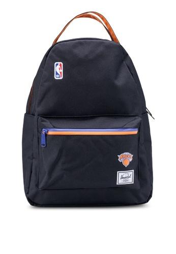 Herschel black Nova Mid Volume Backpack (New York Knicks) AA90EAC885E865GS_1