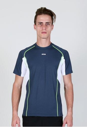 AMNIG grey Running T-shirt 6F5C3AAB191A0BGS_1
