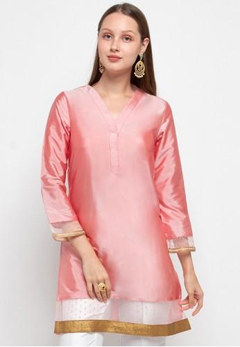 Chanira Festive Collection pink Anya Tunic B493AAA3E32B11GS_1