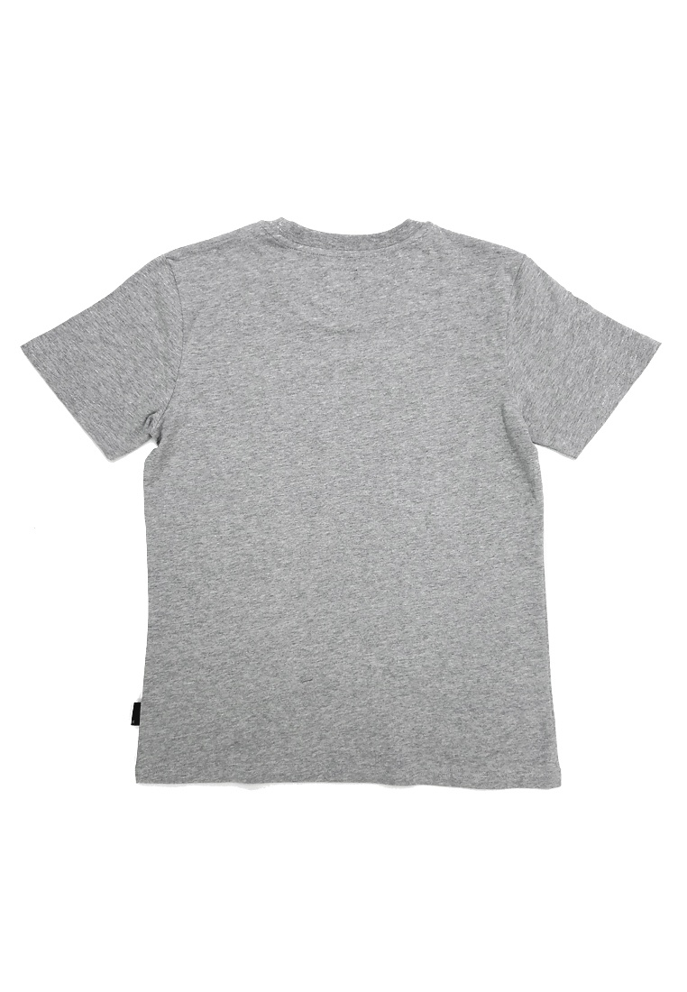 M T I Grey Printed with L Silicon Embossing TEE I E fit Regular nwzvRqxfR
