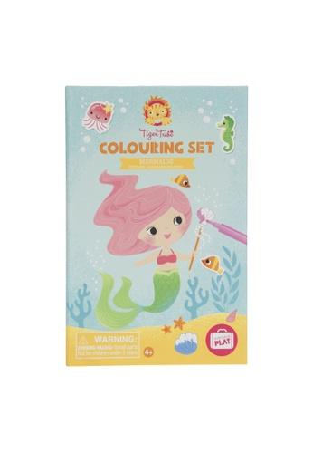 Tiger Tribe Colouring Set - Mermaids CBBB5TH9E47A67GS_1