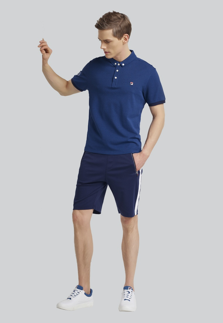 Cropped FILA Pant Cotton Yachting Navy Twq5zxn8