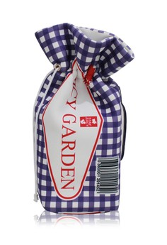 Gingham Checker 2 Way Bucket Clutch