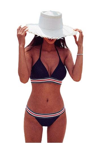 Halo black Sexy Swimsuit Bikini 74B99US74F4E8CGS_1