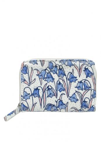 Cath Kidston blue Bluebells Pocket Purse 9504EACC8C1AF3GS_1