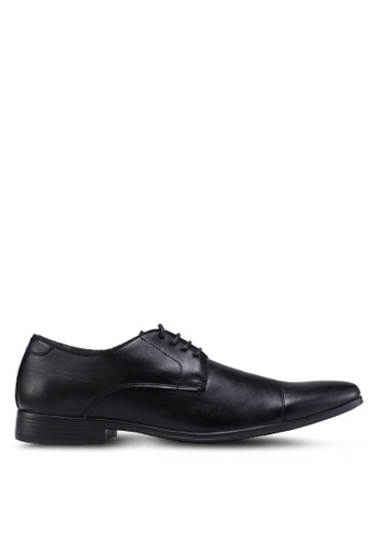 Bata black Lace Up Dress Shoes C05F5SH63435AAGS_1