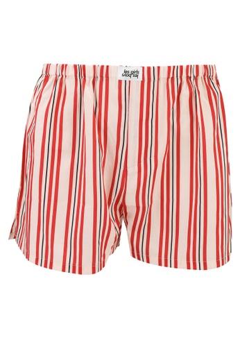 Les Girls Les Boys red Stripe Boxers 733FEUS8E893ABGS_1