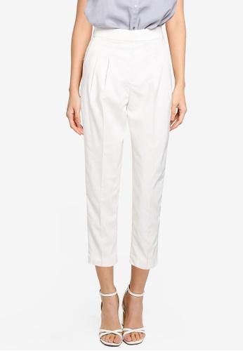 GLOBAL WORK white Slim Pants B98CEAA500A36CGS_1