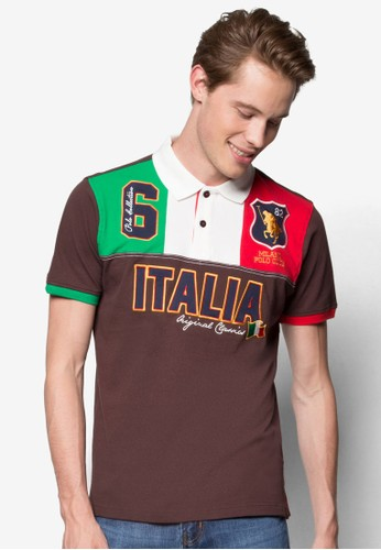 撞色徽章POLO 衫,尖沙咀 esprit 服飾, Polo衫