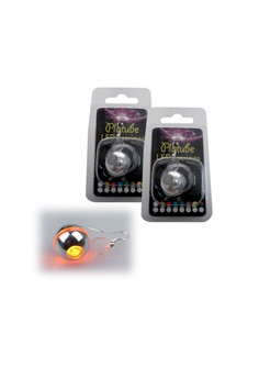 Platube LED Earrings - Orange