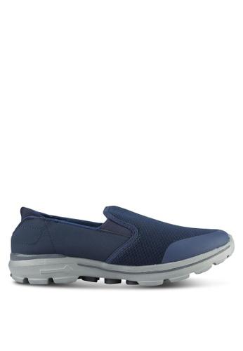 UniqTee blue Lighweight Slip-On Sport Sneakers UN097SH0S21LMY_1