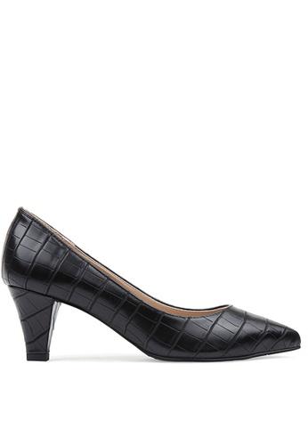 SPUR black Classy Pointed Heels SP642SH2VR89HK_1