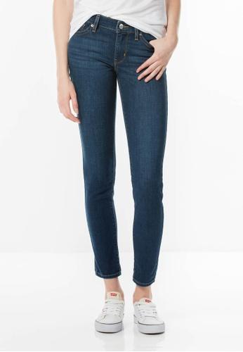 Levi's blue 711 Skinny Jeans LE843AA72JHBSG_1