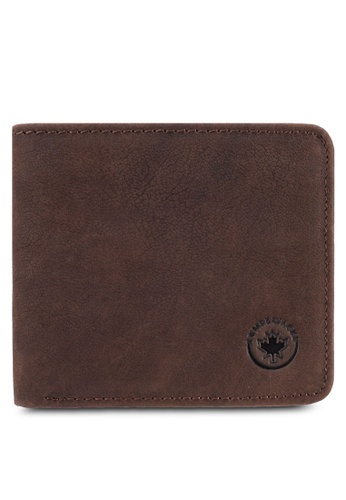 Lumberjacks brown LUMBERJACKS WALLET LU545AC27NZWMY_1