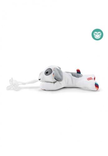 Zazu [Zazu] Universal Pacifier Holder Soft Toy, Dexy the Dog - 0months+ EF24AKC5622897GS_1