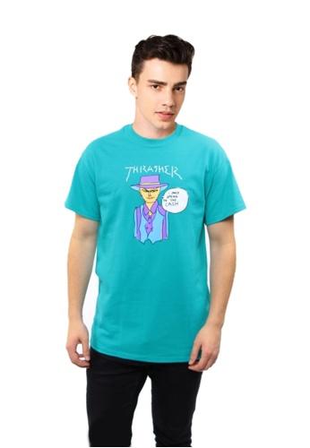 d73579201ebb Thrasher Thrasher Gonz Cash T-Shirt Jade 706D6AA04F5482GS_1