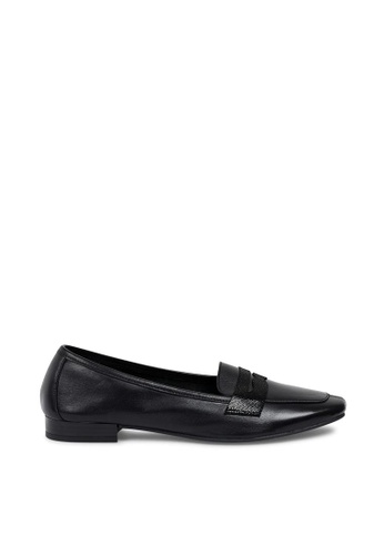Andre black ADNAMOURS Patent Leather Loafers AN324SH0FEIMSG_1