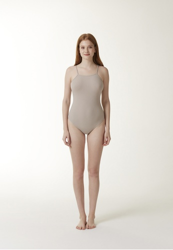 Annibody brown and beige JUNE Body - Taupe 4229CAA37F80C7GS_1