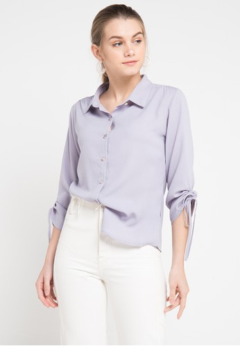 WHITEMODE multi and grey Cali Blouses 94631AA39092A6GS_1