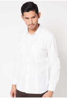 harga Long Sleeve Shirt 104 Zalora.co.id